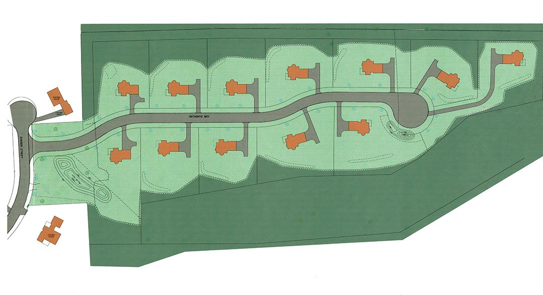 Ryefield Hills, Bloomfield site Plan